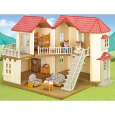 Sale Sylvanian Families City House With Lights Gift Set Sylvanian Families On Singapore