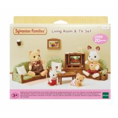 Sylvanian Families Living Room TV Set