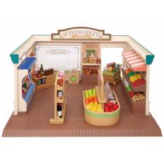 Buying Sylvanian Families Supermarket