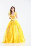 Cheapest Sz Princess Dress *d*lt Women Beauty And The Beast Belle Masquerade Costumes Halloween Clothing Size L Intl Online
