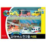 Purchase The Little Bus Tayo Iconix Special Mini Friends Set No 1 Toto Citu Nuri Frank Pat Alice Intl Online