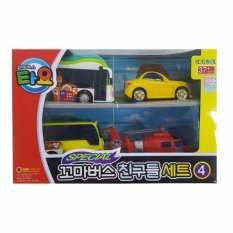 Discount The Little Bus Tayo Iconix Special Mini Friends Set No 4 Kinder Shine Peanut Air Intl South Korea