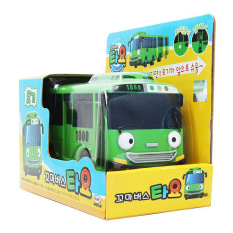 Best Offer The Little Bus Tayo Rogi Korean Character Pull Back Car Diecast Toy Vehicle