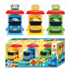 Recent The Little Bus Tayo Shooting Car Toy Set Tayo Rogi Rani Garage 3Pcs Intl