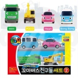 The Little Bus Tayo Special Minibus Friends Set 2 Heart Max Poco Bongbong Kids Like Tayo Korea Popular Animation Christmas Gift Intl For Sale