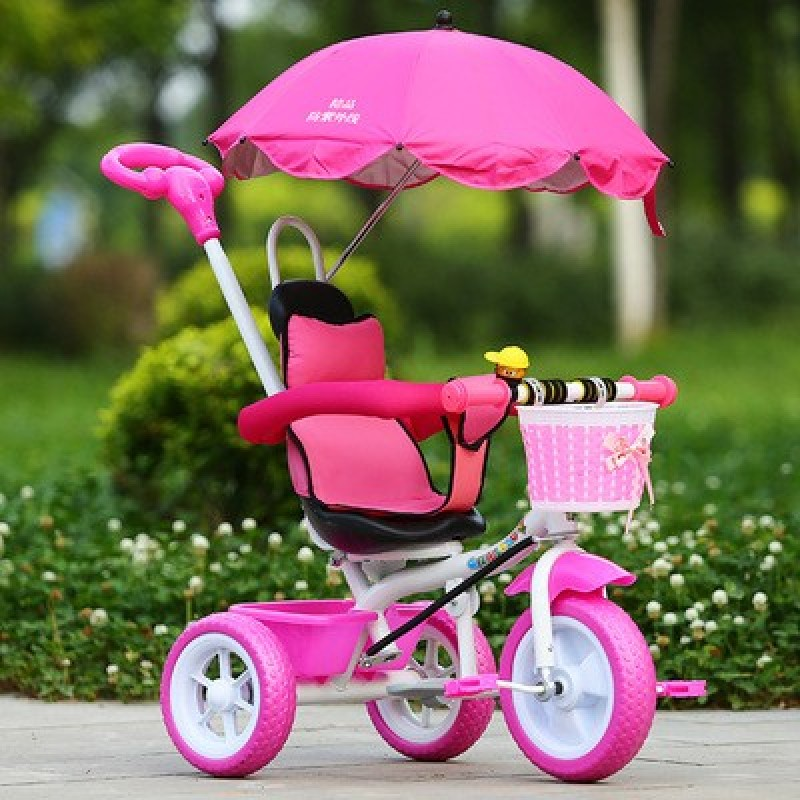 The new tricycle for children 2-3-5 years old male girl child hand push bike bicycle - intl Singapore