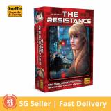 Sale The Resistance Card Board Game The Dystopian Universe 5 10 Players Indie Boards Cards Branded