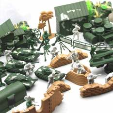 Compare The Soldiers Plastic Army Military Model Xiao Bing Ren Prices