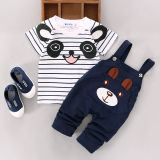 Compare Toddler Kids Baby Boys Girls Outfits Clothes T Shirt Tops Braces Long Pants 2Pcs Set