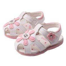 How Do I Get Toddler New Sunflower Girls Sandals Lighted Soft Soled Princess Shoes Intl