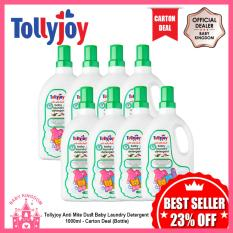 Price Tollyjoy Anti Mite Dust Baby Laundry Detergent 1000Ml Carton Deal Bottle Online Singapore