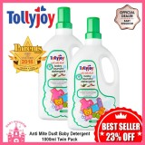 Best Price Tollyjoy Anti Mite Dust Baby Laundry Detergent 1000Ml Twin Pack