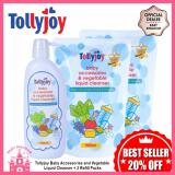 Sale Tollyjoy Baby Accessories And Vegetable Liquid Cleanser 2 Refill Packs Tollyjoy