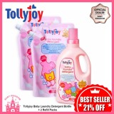 Sale Tollyjoy Baby Laundry Detergent Bottle 2 Refill Packs Singapore Cheap