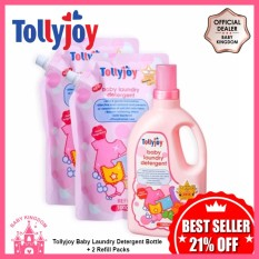 Best Price Tollyjoy Baby Laundry Detergent Bottle 2 Refill Packs