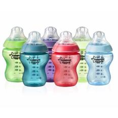 Price Tommee Tippee Closer To Nature Fiesta Funtime Baby Bottles 9Floz 260Ml X 6 Online Singapore