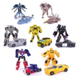 Buy Transformation 7Pcs Lot Robots Optimus Prime Bumblebee Sideswipestarscream Action Figure Toy Legends Classic Toys Intl Cheap On China