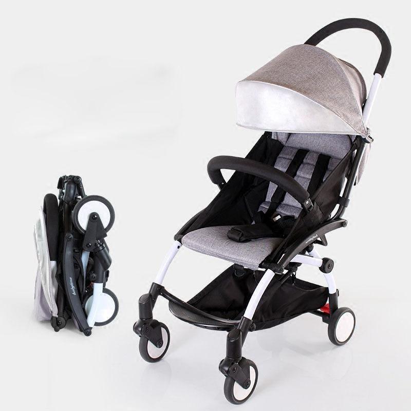 Travel portable and light-weight Baby Stroller Umbrella Trolley Poussette Kinderwagen Bebek Arabas Buggy Stroller Pram for 0-3 years oldsize:52x44x18cm(min) - intl Singapore