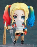 Discount Travelmall New In Box Anime Q Version Harley Quinn 672 10Cm Pvc Action Figure Toy Doll Model S**C*D* Squad Kids Gift Intl Travelmall