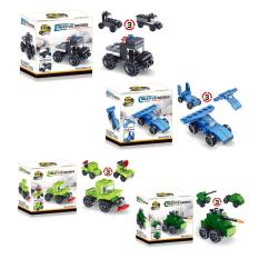 1pc Transformation Assembly Car Model Kids Developmental Toy Gift (random) - Intl By Welcomehome.