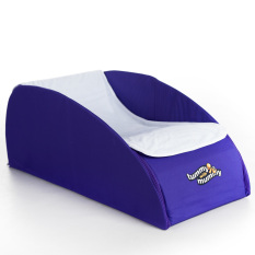 Tummy With Mummy All-In-One Foldaway Tummy Time - Purple By Babybrands Asia.