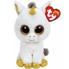 Ty Beanie Boos 6 15 Cm Pegasus The Unicorn Beanie Babies Plush Stuffed Doll Toy Collectible Soft Big Eyes Plush Toys Intl For Sale Online