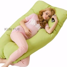Price Comparisons For U Shaped Full Support Pregnancy Pillow 140X80X20Cm Intl