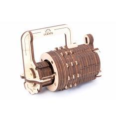 Ugears Combination Lock Mechanical 3d Puzzle