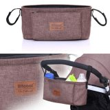 Sale Haotom Universal Baby Stroller Bag Organizer Baby Car Hanging Basket Storage Stroller Accessories Coffee China