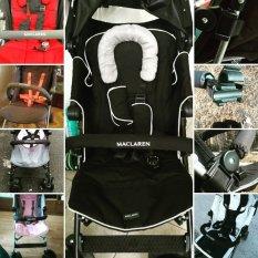 Universal Bumper Bar Maclaren For Wheelchairs Maclaren Stroller Accessories Baby Carriages Buggy Adjustable Bumper Bar Black Intl Deal