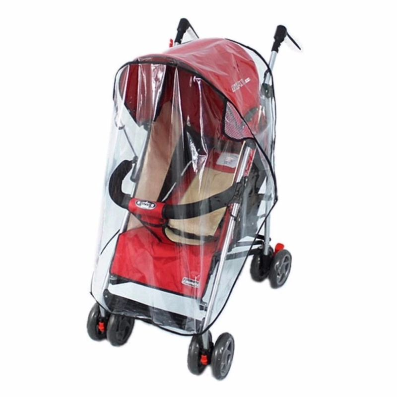 Universal Strollers Pushchairs Baby Carriage Waterproof Cover Windshield - intl Singapore