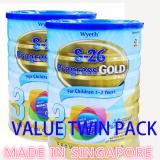 Buy Value Twin Pack Wyeth S 26 Progress Gold 3 1 6Kg On Singapore