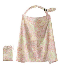 Vanker Mum Mother Women Cotton Cover Baby Infant Breastfeeding Nursing Blanket Shawl Pink Best Buy