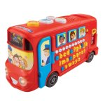 Store Vtech Playtime Bus With Phonics Red Vtech On Singapore