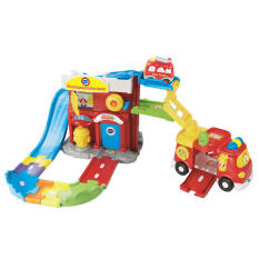 Compare Price Vtech Toot Toot Drivers Fire Station Deluxe On Singapore