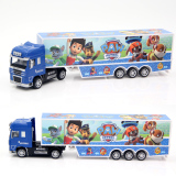 Wang Sound And Light Heavy Truck Logistics Container Transport Car Police Dog For Sale