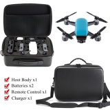 Buy Waterproof Carrying Case Carbon Fiber Surface Pattern For Dji Spark Rc Drone Intl