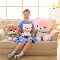 Wholesale Kawaii Dog Plush Toys Pink Yellow Khaki 25 35 50Cm Cute Pomeranian Plush Cloth Doll Stuffed Plush Kids Toys Intl Online