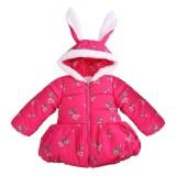Price Winter Girls Baby Kids Mushroom Print Rabbit Ears Hooded Outerwear Coat Intl Vakind New