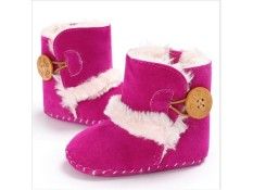 Winter Warm Baby Boots Premium Soft Sole Prewalker Newborn Infant Boy Girl Crib Shoes Snow Boots
