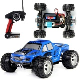 Who Sells The Cheapest Wltoys A979 1 18 2 4G 4Wd Monster Truck High Speed Racing Car Blue Eu Plug Intl Online