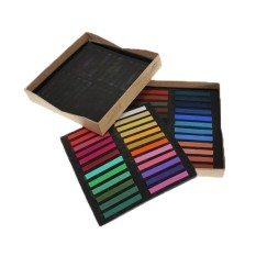 Womdee 48 Colours Chalk Pastels Set For Art Drawing Scrapbooking (assorted Colors,set Of 48) - Intl By Womdee.