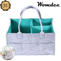 Womdee Baby Diaper Caddy Organizer,portable Diaper Caddy Nursery Storage Bin,baby Wipes Bag,changeable Compartments,best For Baby Shower Gift,newborn Registry Gift - Intl By Womdee.