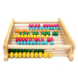 Wooden Abacus Kids Toys Computing Calculator Math Learning Teaching Tool Gifts Intl Sale
