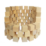 Shop For Wooden Big Block Cube Body Square Toy Building Blocks Block