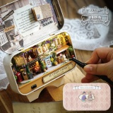 Discount Wooden Dolls House Diy Mini Model Kit Led Light Furnitures Toys Craft Kids Gift Intl Not Specified