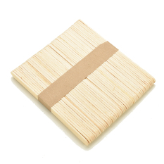 Wooden Popsicle Sticks 100pcs Primary Color By Ministar.
