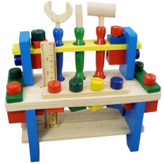 Retail Wooden Scr*w Disassembly Tool Sets Assembled Building Blocks
