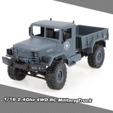 Sale Wpl B 1 1 16 2 4G 4Wd Off Road Rc Military Truck Rock Crawler Army Car Intl Online Hong Kong Sar China