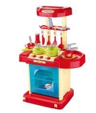 Retail Xiong Cheng 008 58A Prince Kitchen Play Set Red